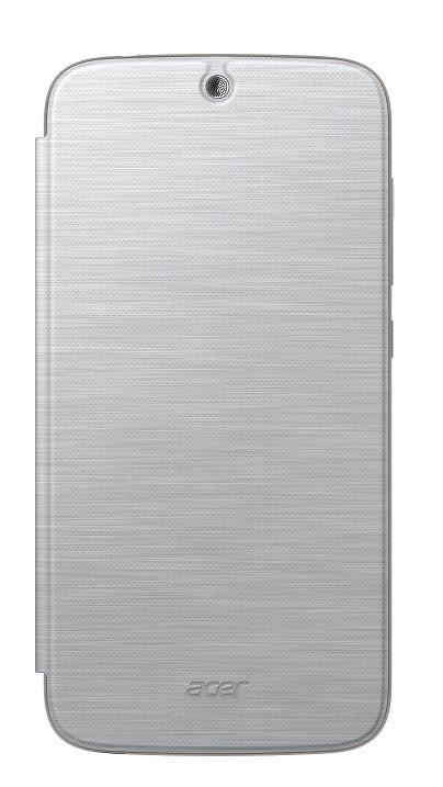 Flip Cover pro telefon Acer Liquid Z630, stříbrný