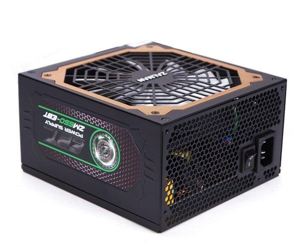 Zdroj Zalman ZM650-EBT 650W 80+ Gold ATX12V 2.3, EPS, aPFC 13,5cm fan, modular