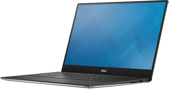 "Dell Ultrabook XPS 13 (9350)/i7-6500U/8GB/256GB SSD/Intel HD 520/13,3""/QHD+/BT/CAM/Win 10 MUI/Silver"