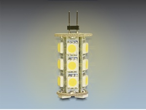 Delock LED žárovka G4 18x SMD 3,5W, teplá bílá
