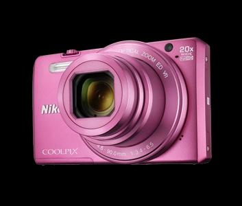 Nikon Coolpix S7000 růžový + pouzdro,16MPx,20xOZ