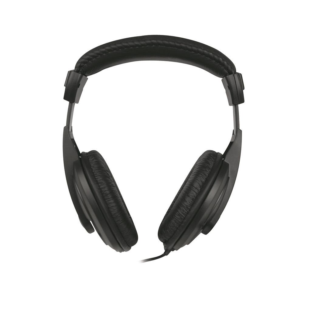 MSONIC Stereofonní sluchátka s mikrofonem, na uši, ovládání hlasitosti MH462K