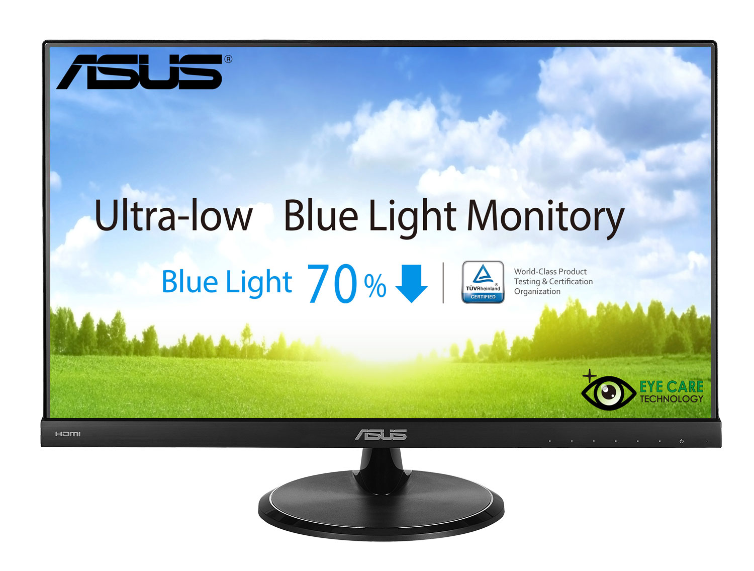 "Akce_23"" LED ASUS VC239H - Full HD, 16:9, HDMI, VGA, DVI"