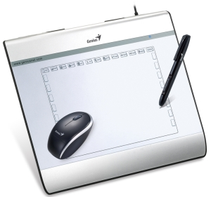 Genius graphic tablet with mouse MousePen i608X, 6''x8''