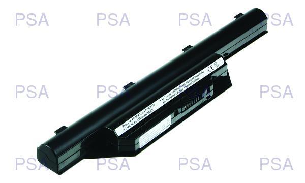 2-Power baterie pro FUJITSU SIEMENS LifeBook S7210, S6410, S6420, S6421, S6510, S6520, S7210 10,8 V, 5200mAh, 6 cells