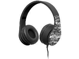 TRACER URBAN STYLE multimediální sluchátka černá