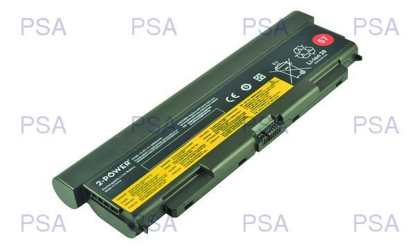 2-Power baterie pro IBM/LENOVO ThinkPad T440p, T540p, W540, L540, L440 10,8 V, 7800mAh