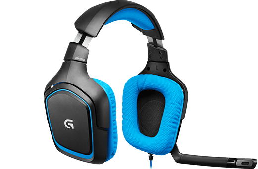 Logitech Gaming Headset G430, blue, 7.1surround sound