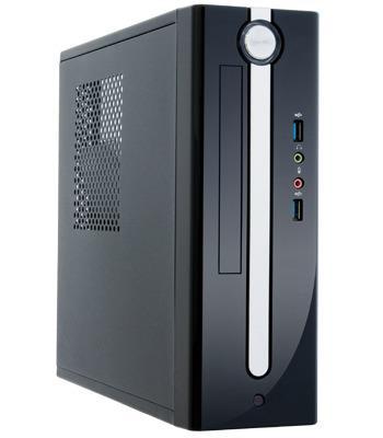 Chieftec PC skříň Flyer FI-01B-U3, mini ITX, zdroj 250W TFX