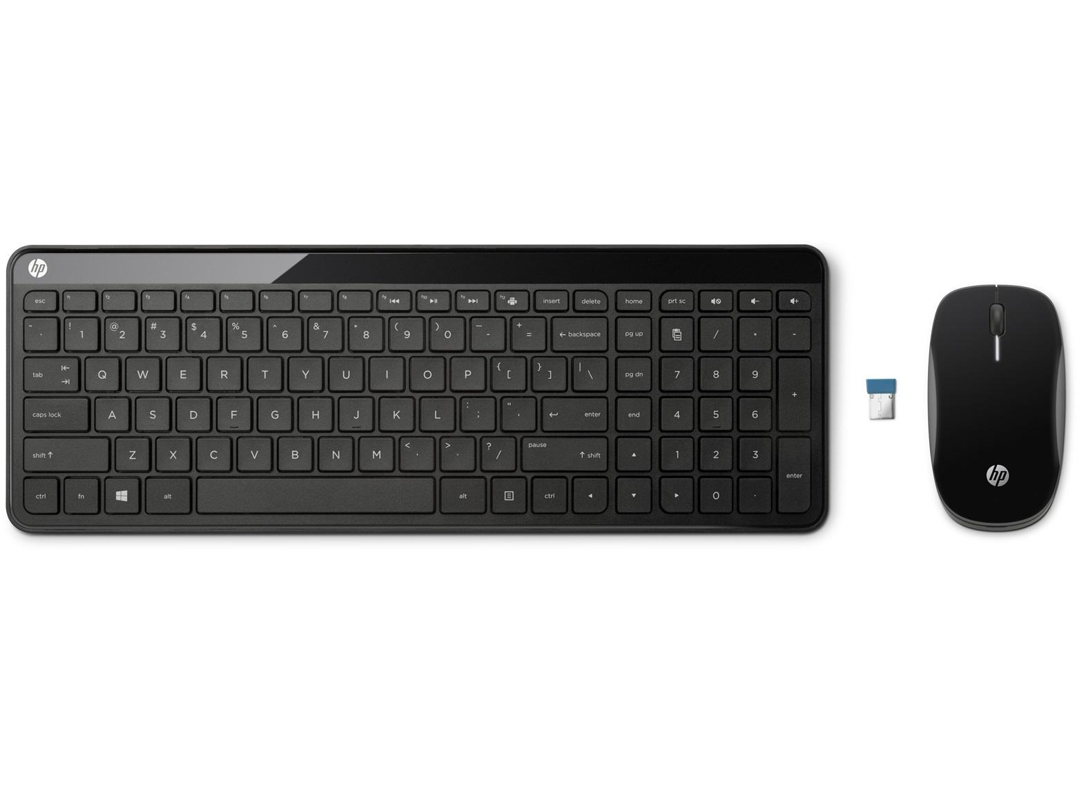 HP set klávesnice a myši C6020 bezdrátová, CZ
