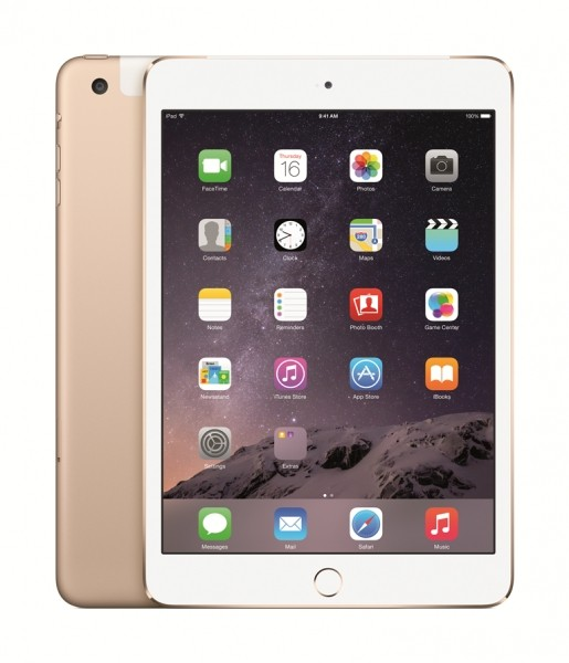Apple iPad mini 3 Wi-Fi Cell 128GB Gold