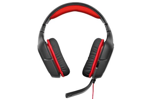 Logitech Gaming Headset G230, red, odlehčená konstrukce, vysoce kvalitní zvuk