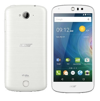 "ACER Smartphone Liquid Z530 LTE - Dual SIM,5"" IPS 1280x720,MT6735@1.3GH,8GB ROM,1GB RAM,8Mpx/8Mpx,BT,Android 5.1,bílý"
