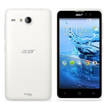 "ACER Smartphone Liquid Z520 DUAL SIM,5"" 854x480,MT6582M 1,3GHz Quad,ROM 16GB,RAM 2GB,8Mpx/2Mpx,3G,BT, Android 4.4,bílý"