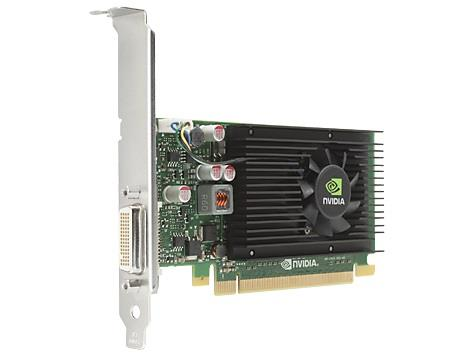 HP nVidia NVS 315 1GB DDR3 PCIe x16 Card DMS-59->2xDVI + Low Profile Bracket