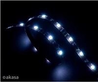 AKASA LED zářivka, 15xLED,12V, 60cm, bílá