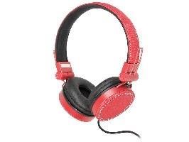 TRACER JEAN multimediální sluchátka červená
