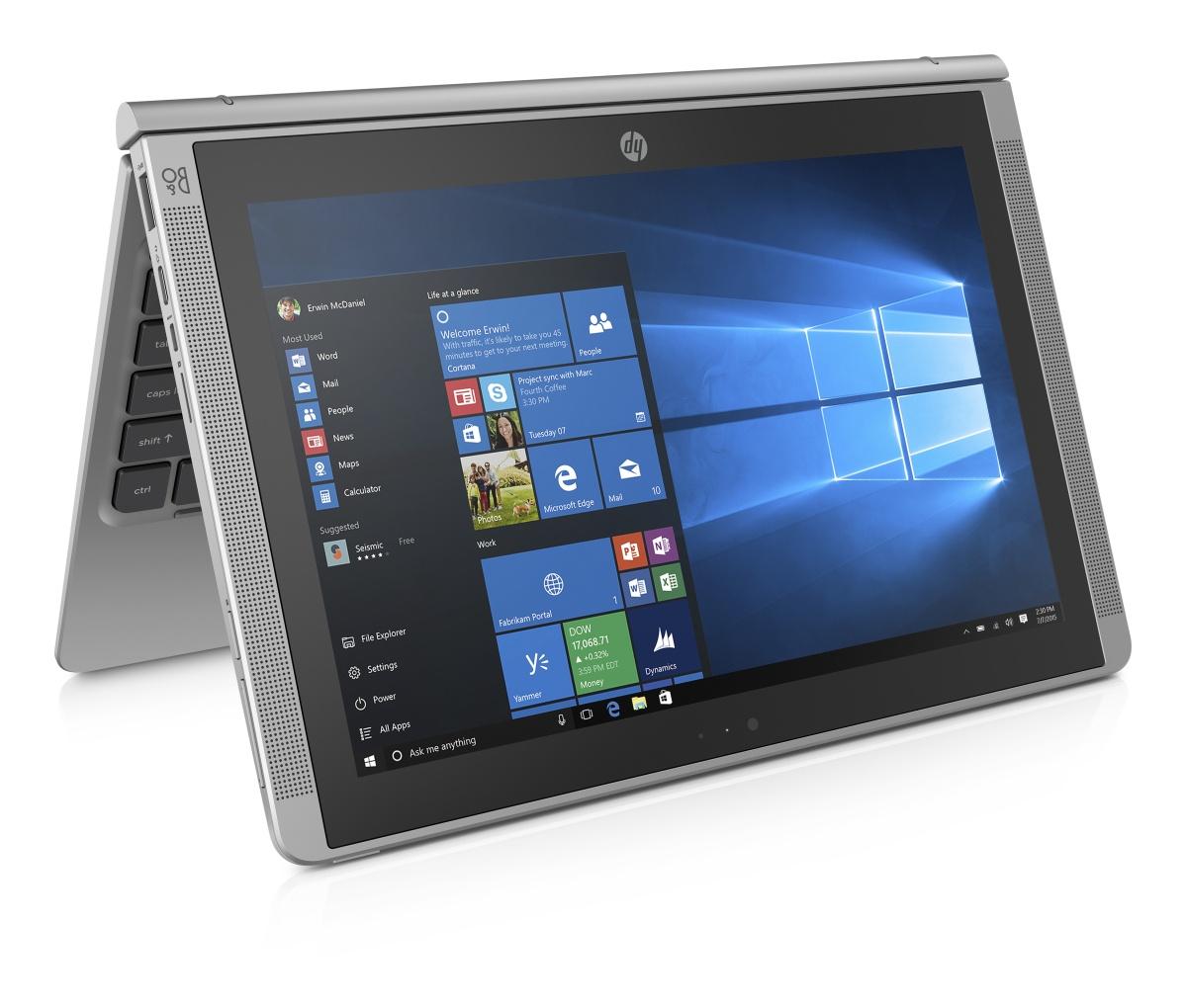 """HP x2 210 G1 Z8300/10.1"""" HD (1280x800)/4GB/64GB/ac, BT/kbd/Win 10 Pro 64"""