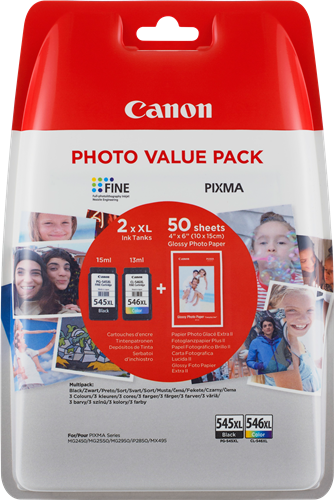 Canon cartridge PG-545XL/CL-546XL PHOTO VALUE