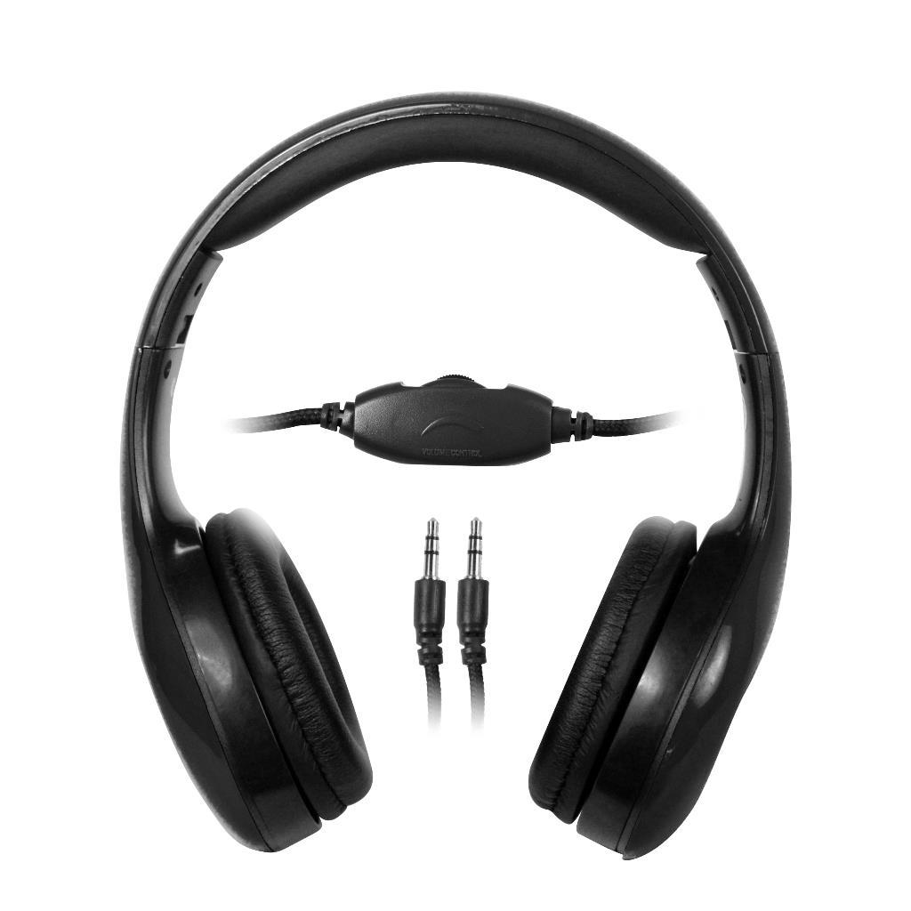 MSONIC Sluchátka na uši, ovládání hlasitosti MH531K černá