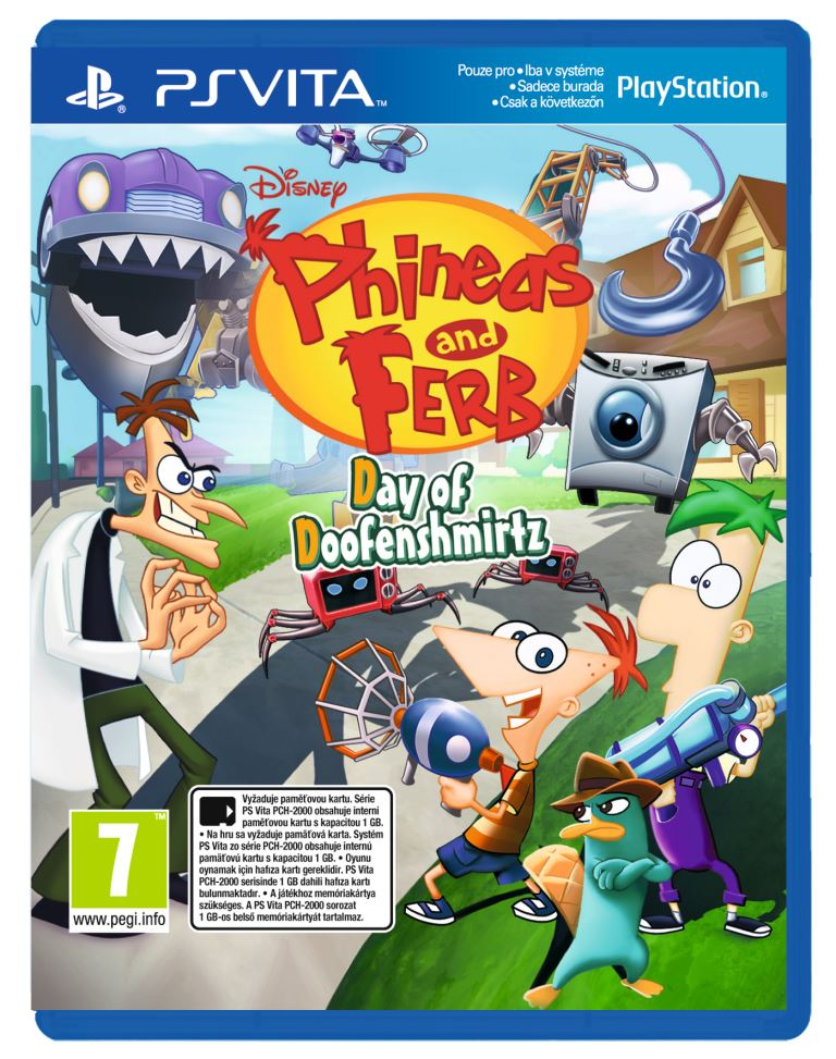 PS Vita - Phineas & Ferb Day of Doofensmirtz