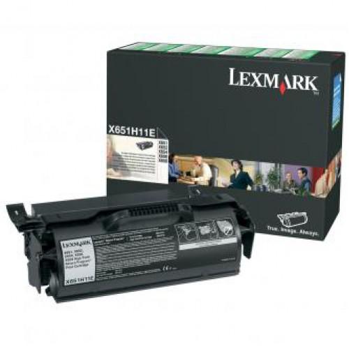 Toner Lexmark black | return | 25000str | X651de/X652de/X654de/X656de/X656dte...