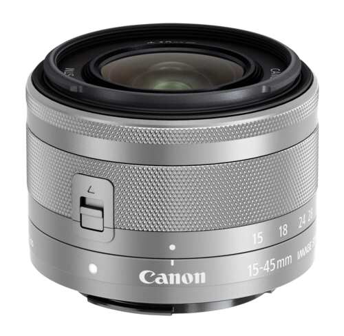 Canon EF-M 3,5-6,3/15-45 IS STM silver
