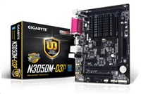 GIGABYTE MB N3050M-D3P, Dual-Core Celeron® N3050 SoC (1.6 GHz), Intel N3050, 2xDDR3, VGA, mATX