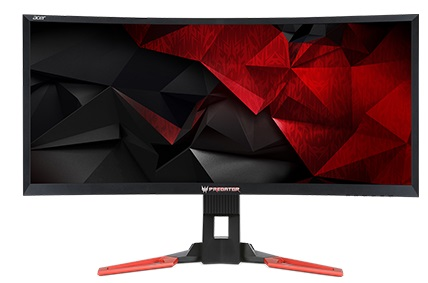 "Acer LCD Z35 Predator, 89cm 35"" 21:9 VA LED/2560x1080/100M:1/4ms/300cd/m2/HDMI 1.4/DisplayPort/ USB 3.0 Hub(1up 4down)"