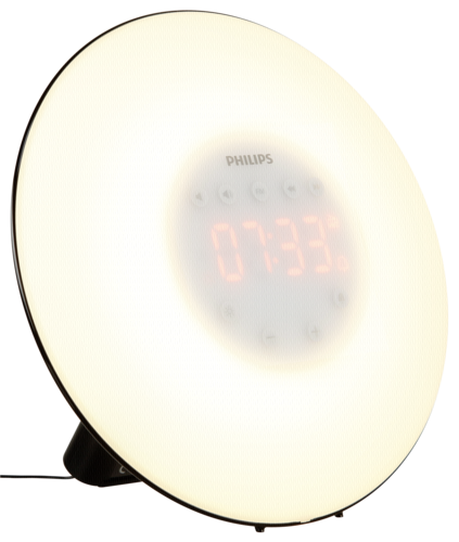 Philips Wake Up Light cerna HF3506/06