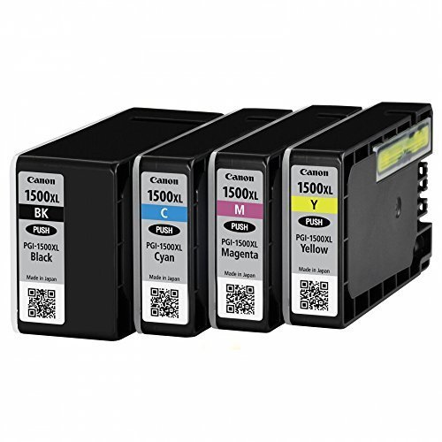 Canon cartridge INK PGI-1500XL BK/C/M/Y + Calculator
