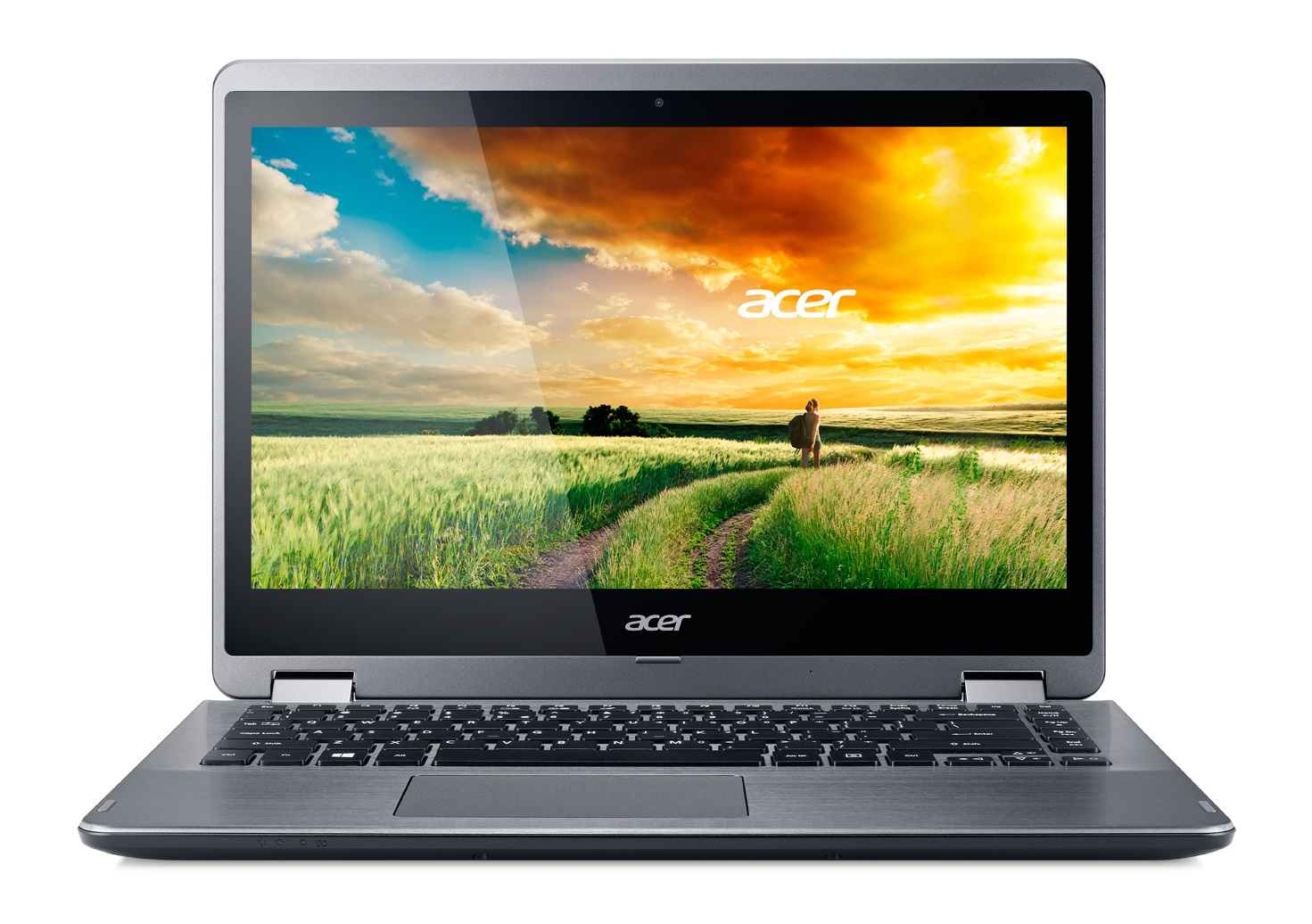 "Acer Aspire R 14 (R5-471T-766J) i7-6500U/8GB+N/256GB SSD+N/HD Graphics/14"" FHD IPS Multi-touch/BT/W10 Home/Black"