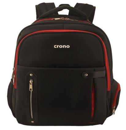 "Crono Dakota - batoh na notebook 15.6"", černý + červený"