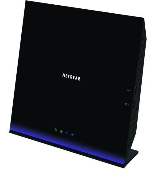 NETGEAR 5PT AC1600 WIFI VDSL MODEM ROUTER, D6400