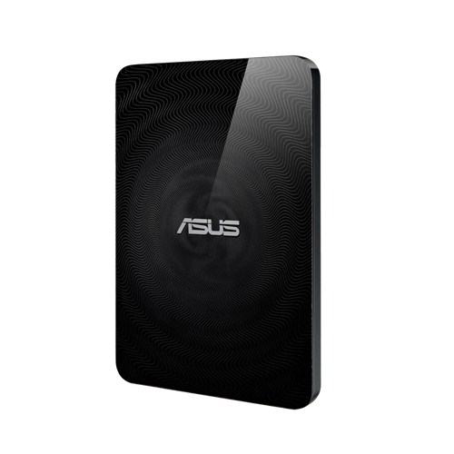 ASUS TravelairN 1TB eHDD BLACK, USB3, WiFi+NFC, baterie, SD reader