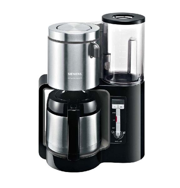 Kávovar Siemens TC 86503, černý-antracit