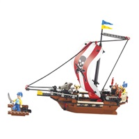 Sluban stavebnice pirátská loď - M38-B0279