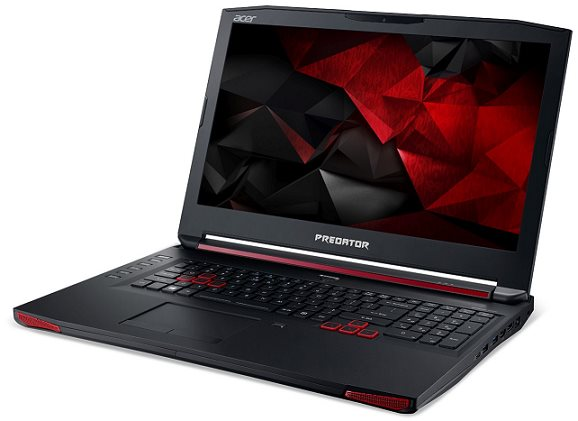 "Acer Predator 17 (G9-791-5998) i5-6300HQ/8GB+N/1TB 7200 ot. +N/DVDRW/GeForce GTX 970M 3GB/17.3"" FHD/BT/W10 Home/Black"
