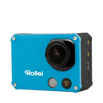 Rollei ActionCam 420 - Modrá/ 4K/ FULL HD 1080/60 fps/ 170°/ 40m pzd./ Wi-Fi/ Dál.ovl/ CZ menu/