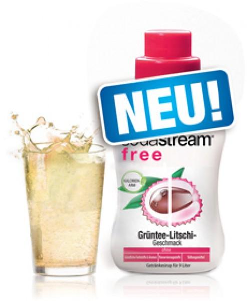 SodaStream sirup liči zelený čaj