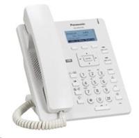 "Panasonic KX-HDV130NE [IP telefon, 2xSIP účet , 2xLAN, PoE, 2.3"" displej, 2 programovatelné tlačítka, bílá barva]"