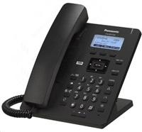 """Panasonic KX-HDV130NEB [IP telefon, 2xSIP účet , 2xLAN, PoE, 2.3"""" displej, 2 programovatelné tlačítka, černá barva]"""