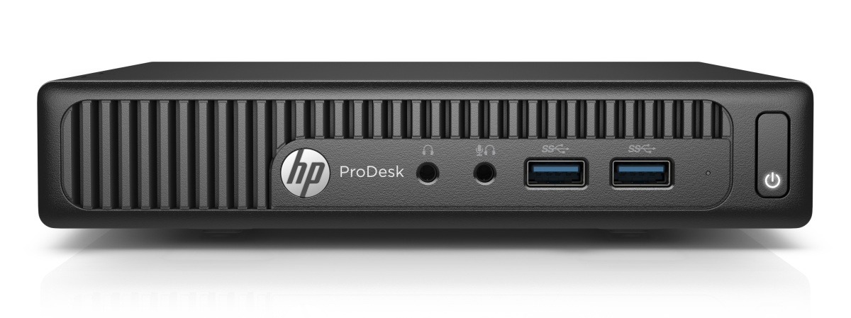 HP ProDesk 400G2 DM/G4400T/4GB/500 GB/Intel HD/Win 10 Pro + Win 7 Pro