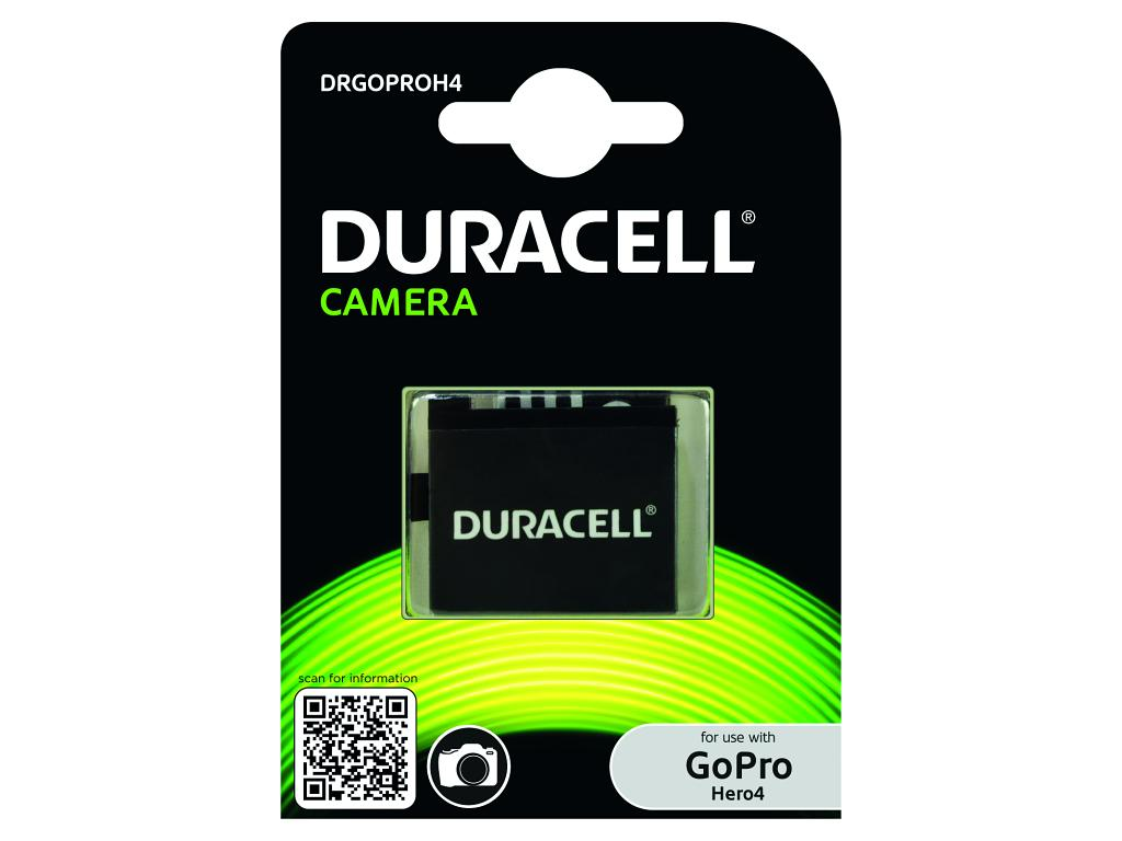 DURACELL Baterie - Náhrada GoPro Hero 4 AHDBT-401 baterie 3,8V 1160mAh - kit 2ks