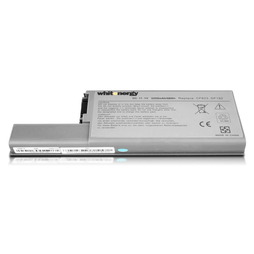 Whitenergy Premium baterie pro Dell Latitude D820 11.1V Li-Ion 5200mAh