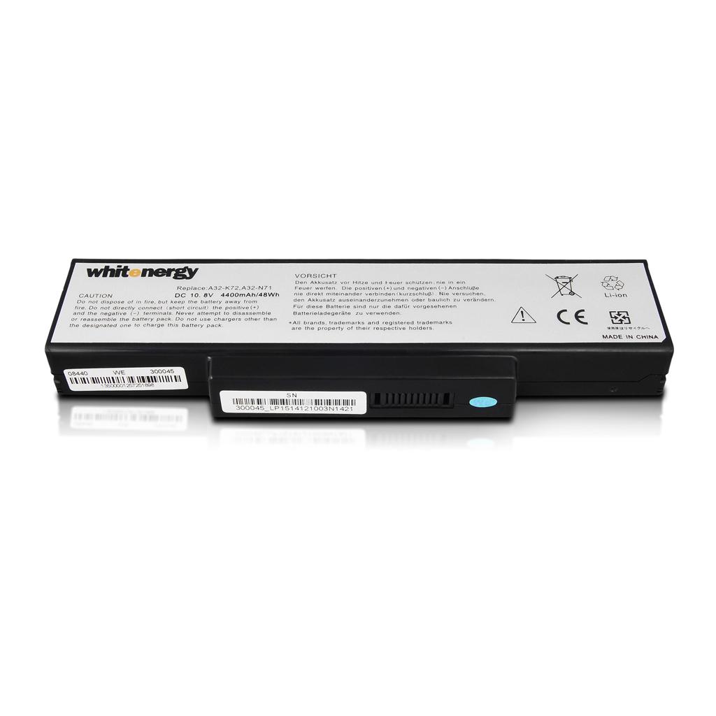 WE baterie Asus A32-K72 10.8V 4400mAh