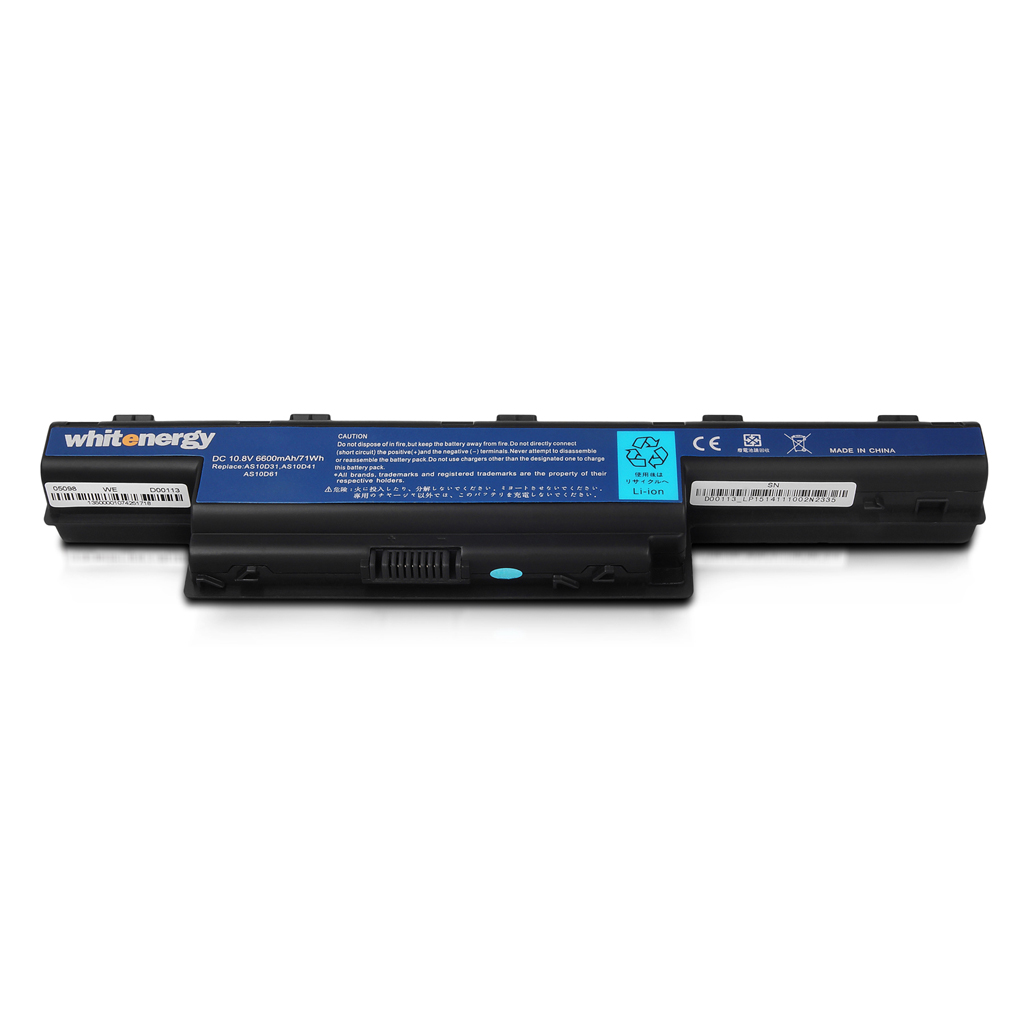 Whitenergy High Capacity baterie k Acer Aspire 5741 11.1V Li-Ion 6600mAh