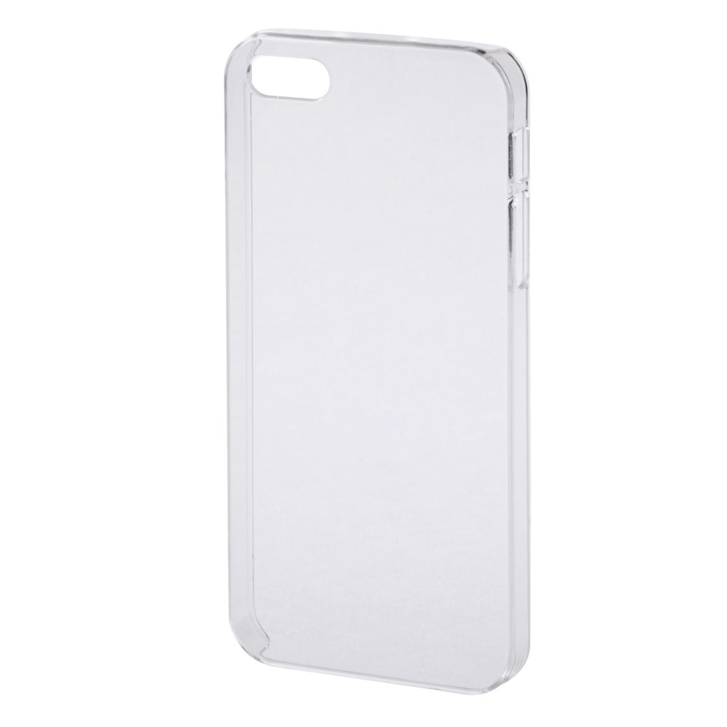 PHONEFASHION Clear kryt pro 3D obrázek pro Apple iPhone 5/5S, transparentní
