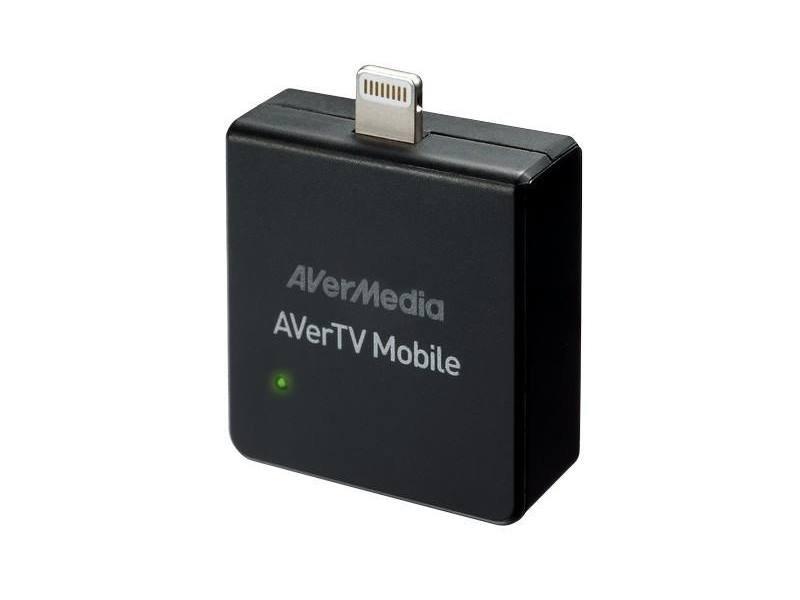 AVERMEDIA AVerTV Mobile 330 for iOS/ Externí/ Pro Tablety a Telefony Apple/ DVB-T/ Externí/ Anténa