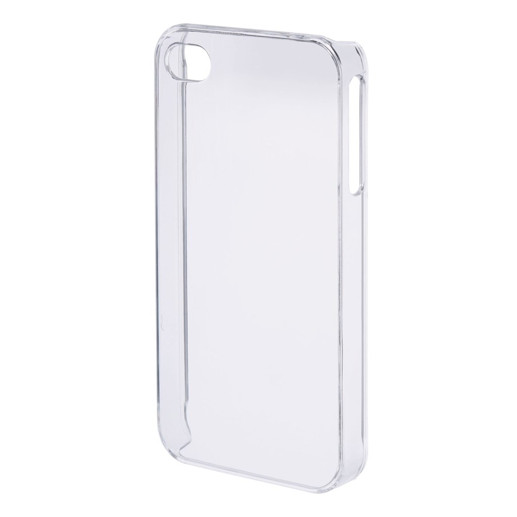 PHONEFASHION Clear kryt pro 3D obrázek pro Apple iPhone 4/4S, transparentní